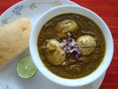 Marathi egg or anda curry