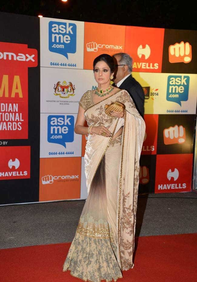 Sridevi Kapoor At SIIMA Awards 2014