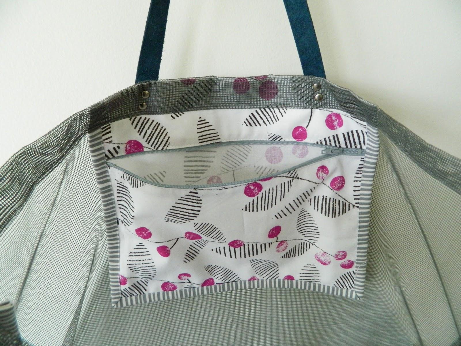 s.o.t.a.k handmade: mesh beach bag