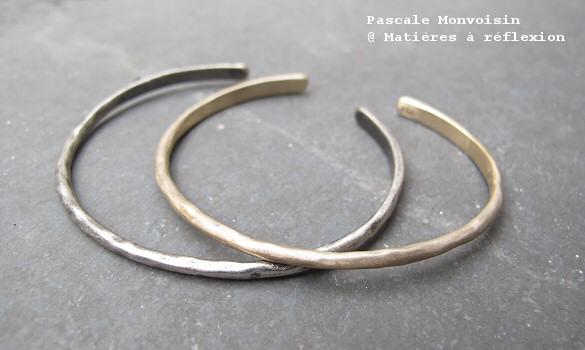 Bracelets Baia pyrite Pascale Monvoisin