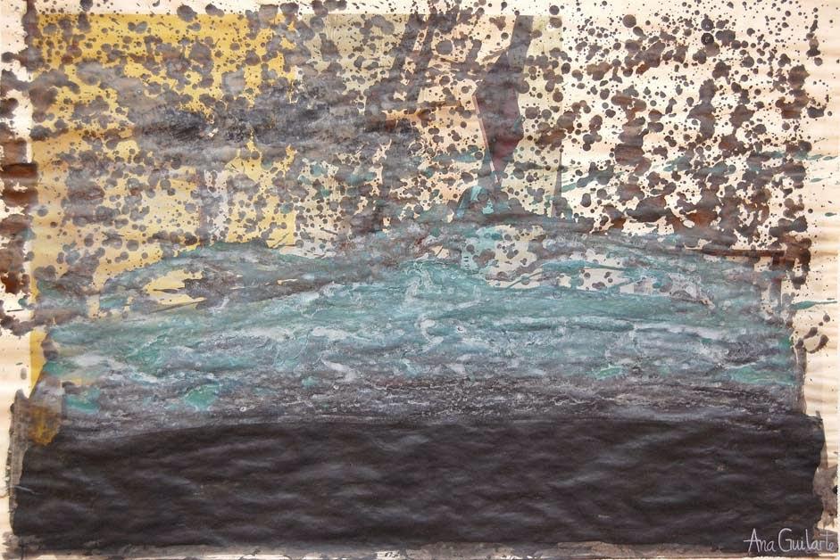 143. UNTITLED. Framed. 52x72cm