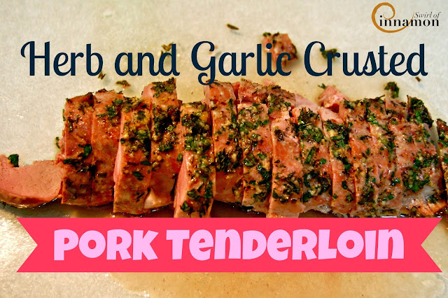 herbed pork loin