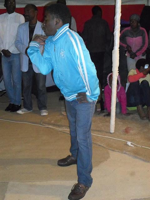 Pastor Comands Gay Spirit To Enter Into Church Member