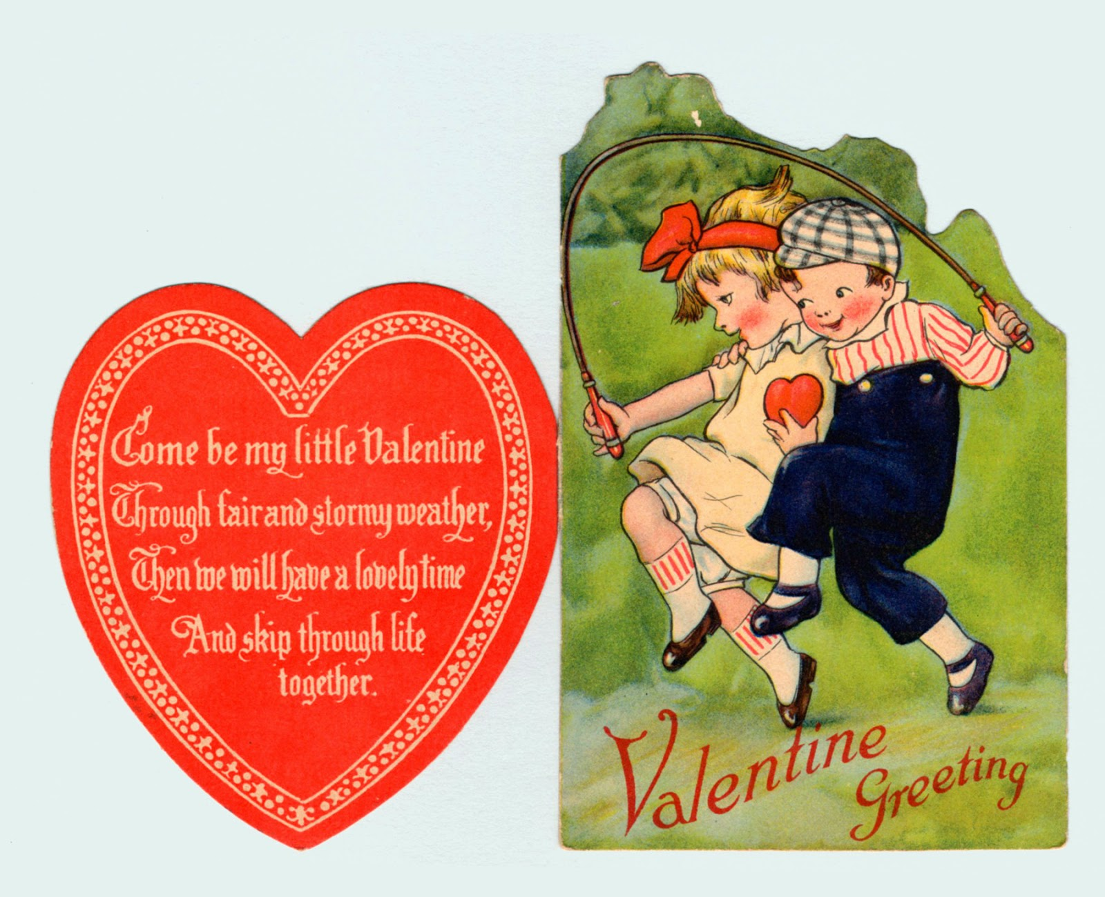 Come Be My Little Valentine Through Fair And Stormy Weather, Then We Will  Have A Lovely Time And Ship Through Life Together. Valentine Greeting.