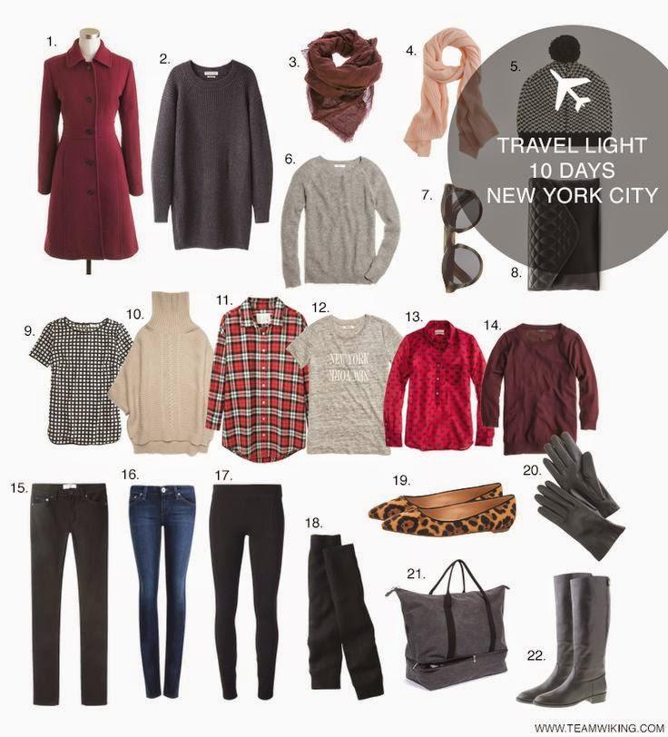 Maleta para semana santa ponte tu ropa for New york city day trip ideas