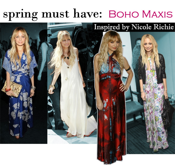nicole richie boho chic. I love Nicole Richie#39;s style,