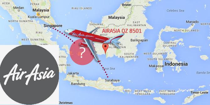 Pesawat AirAsia QZ8501