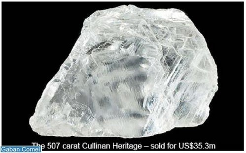 Inilah Berlian Terbesar Didunia Pernah Ditemui