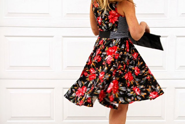 Streamlined Waist Dress sewing tutorial