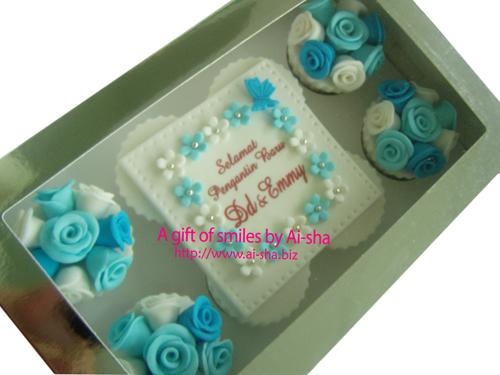 Wedding Cupcake Ai-sha Puchong Jaya