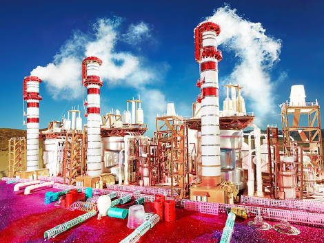 David LaChapelle 'Land Scape' Exhibition