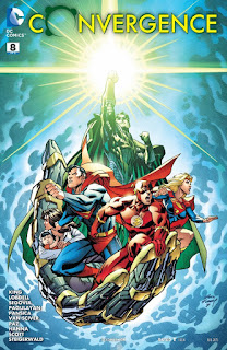 Cover of Convergence #8 from DC Comics