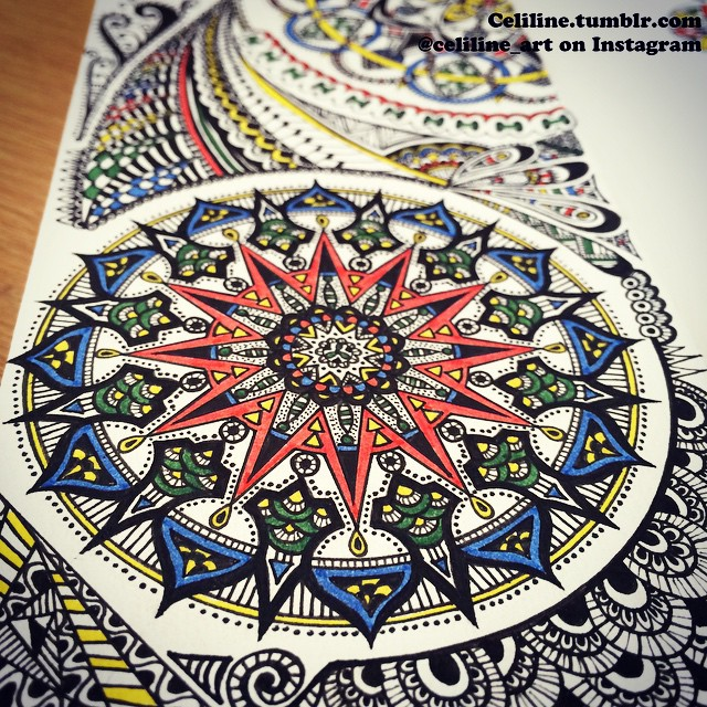 16-Celiline-Hand-Drawn-Zentangle-Doodles-Illustrations-Drawings-www-designstack-co