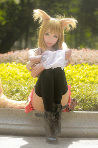 cosplay <3 *-* Cosplay コスプレ GAME Final Fantasy Miqote Cat Cosplay Girls