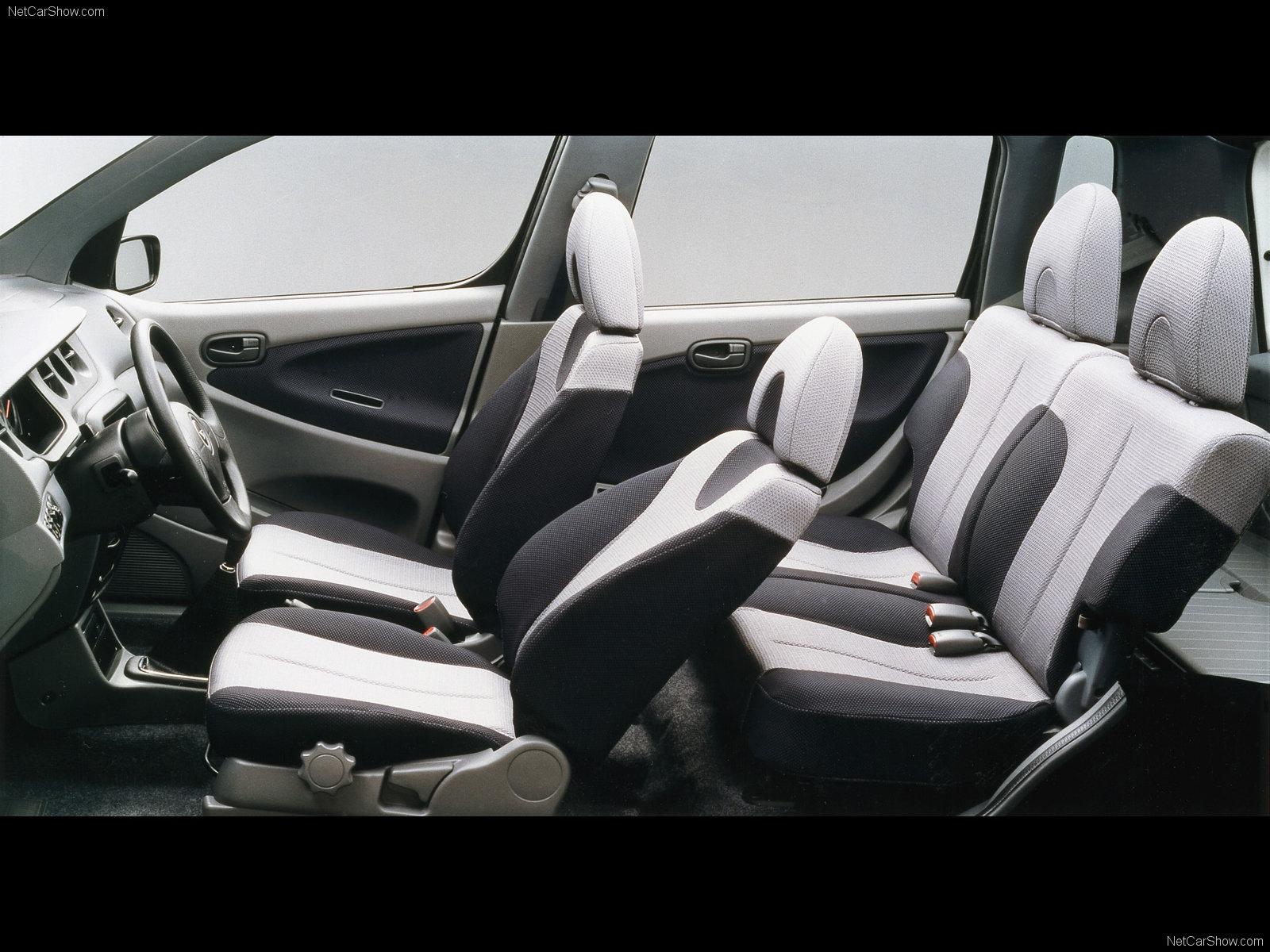Hình ảnh xe ô tô Daihatsu YRV 2004 & nội ngoại thất