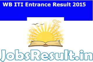 WB ITI Entrance Result 2015