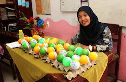 Media Belajar Matematika dari Bola dan Sarang Telur