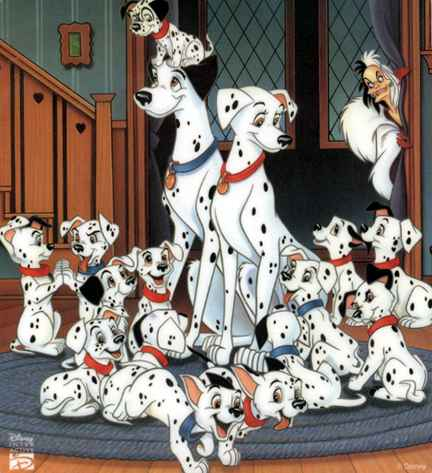 9 disney animal 101 dalmatians cartoon wallpaper