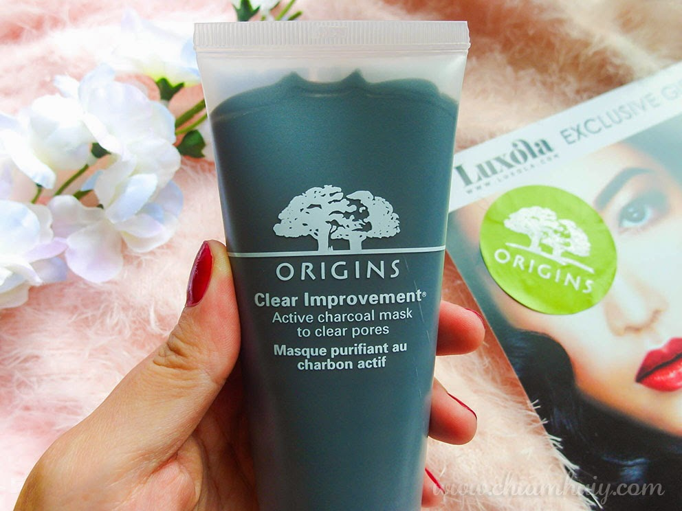 Origins Clear Improvement Active Charcoal Mask Review Celine Chiam