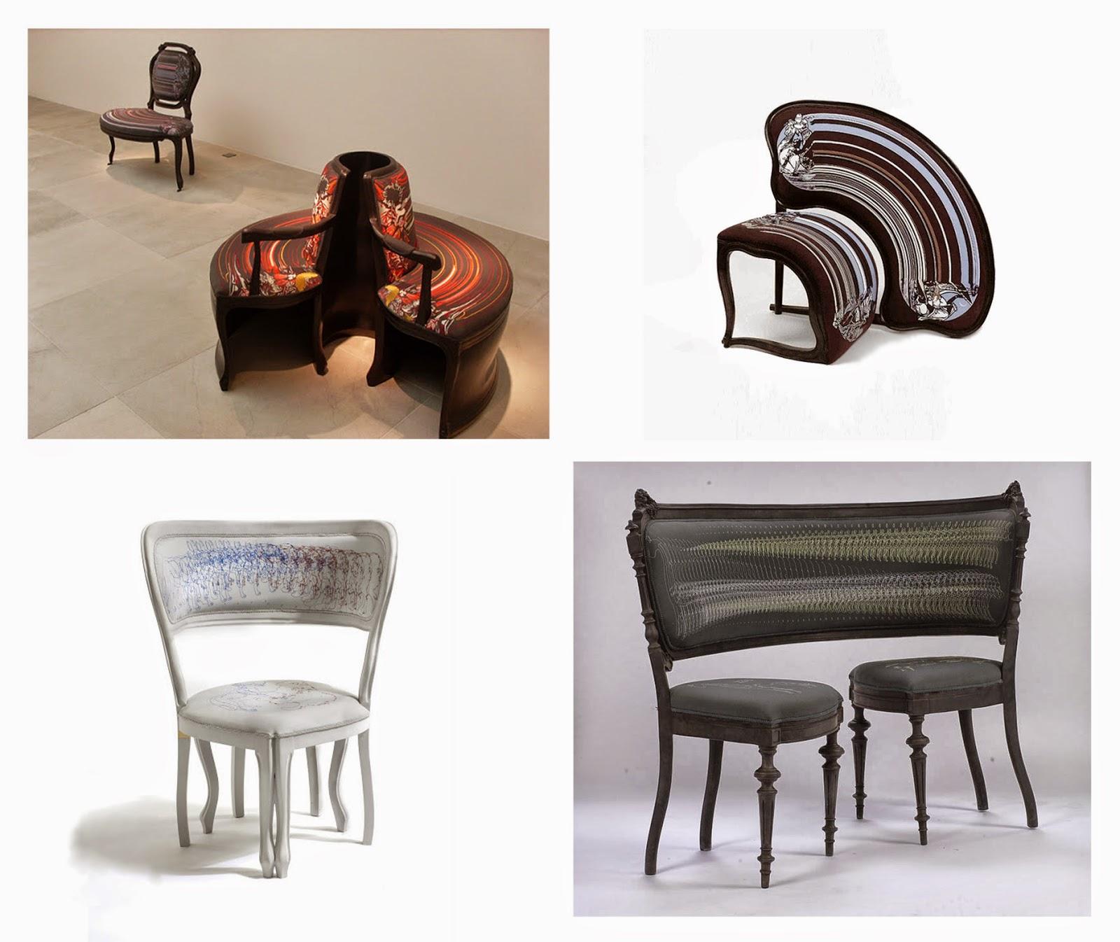 геометрическая фигура на мебели фото