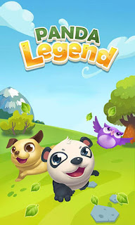 Screenshots of the Panda legend for Android tablet, phone.