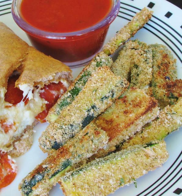 Saucy Jocey's Kitchen: Baked Zucchini Fries
