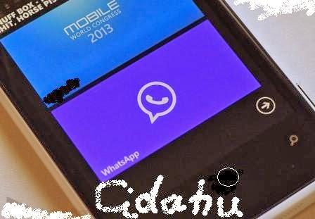 Aplikasi Whatsapp Messengar memang sangat disukai oleh setiap orang ...