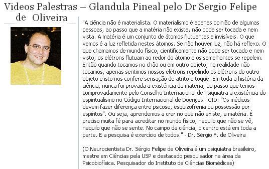 Assista a palestra de Dr. Sérgio Felipe de Oliveira