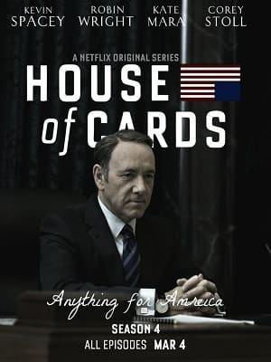 House of Cards - 4ª Temporada Séries Torrent Download completo
