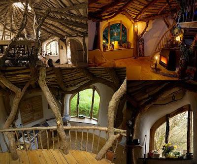 Cuarto de los trastos una casa hobbit de verdad en gales - La casa de los hobbits ...
