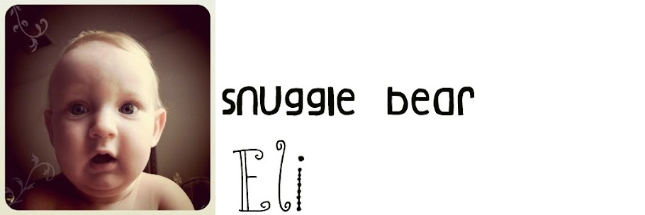 Snuggle Bear Eli