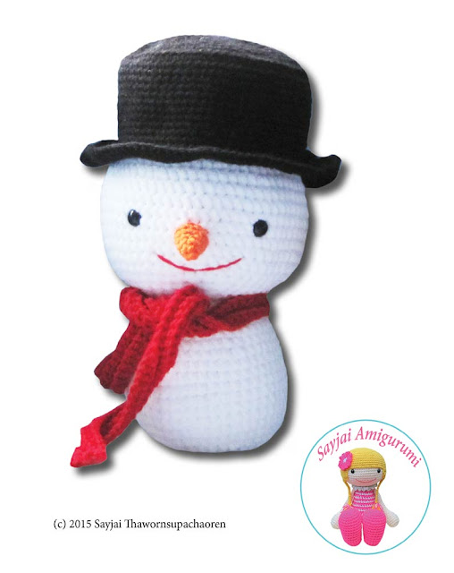Amigurumi Crochet Snowman : Sayjai amigurumi crochet patterns ~ K and J Dolls / K and ...