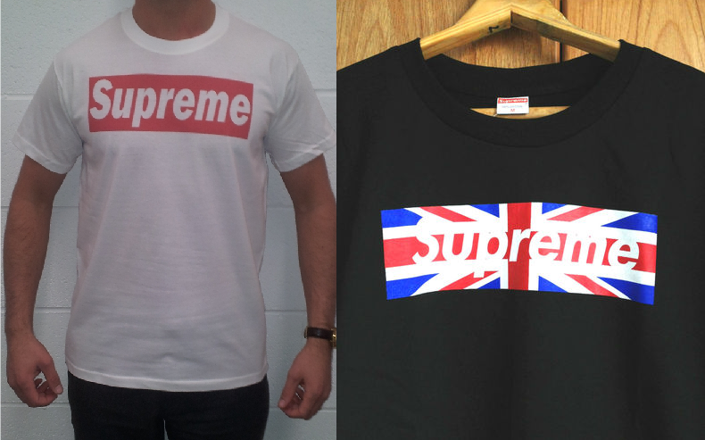 the ramblings of jon m a how to spot a fake supreme t shirt. Black Bedroom Furniture Sets. Home Design Ideas