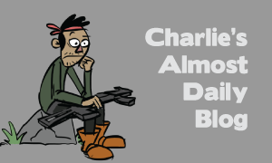 Charlie's Almost-Daily Blog