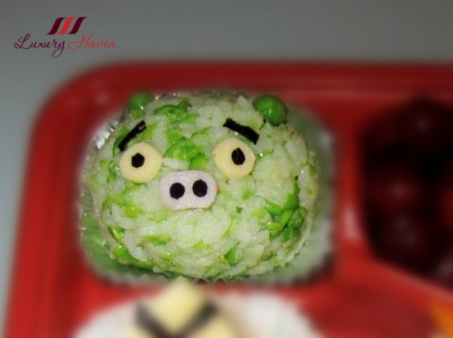 angry birds tuna onigiri bento recipe king pig