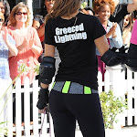 MARIA MENOUNOS IN SKATES WILL SURELY BE THE HIGH POINT OF THE KRIS SHOW