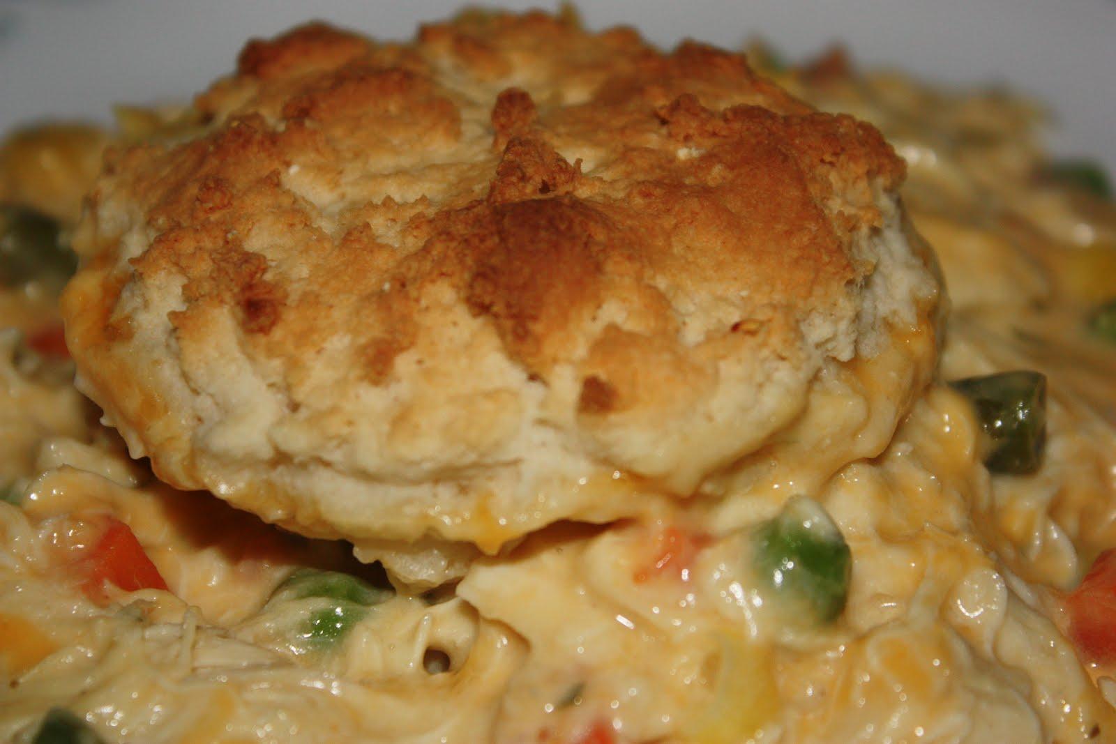 Chicken & Biscuits Casserole