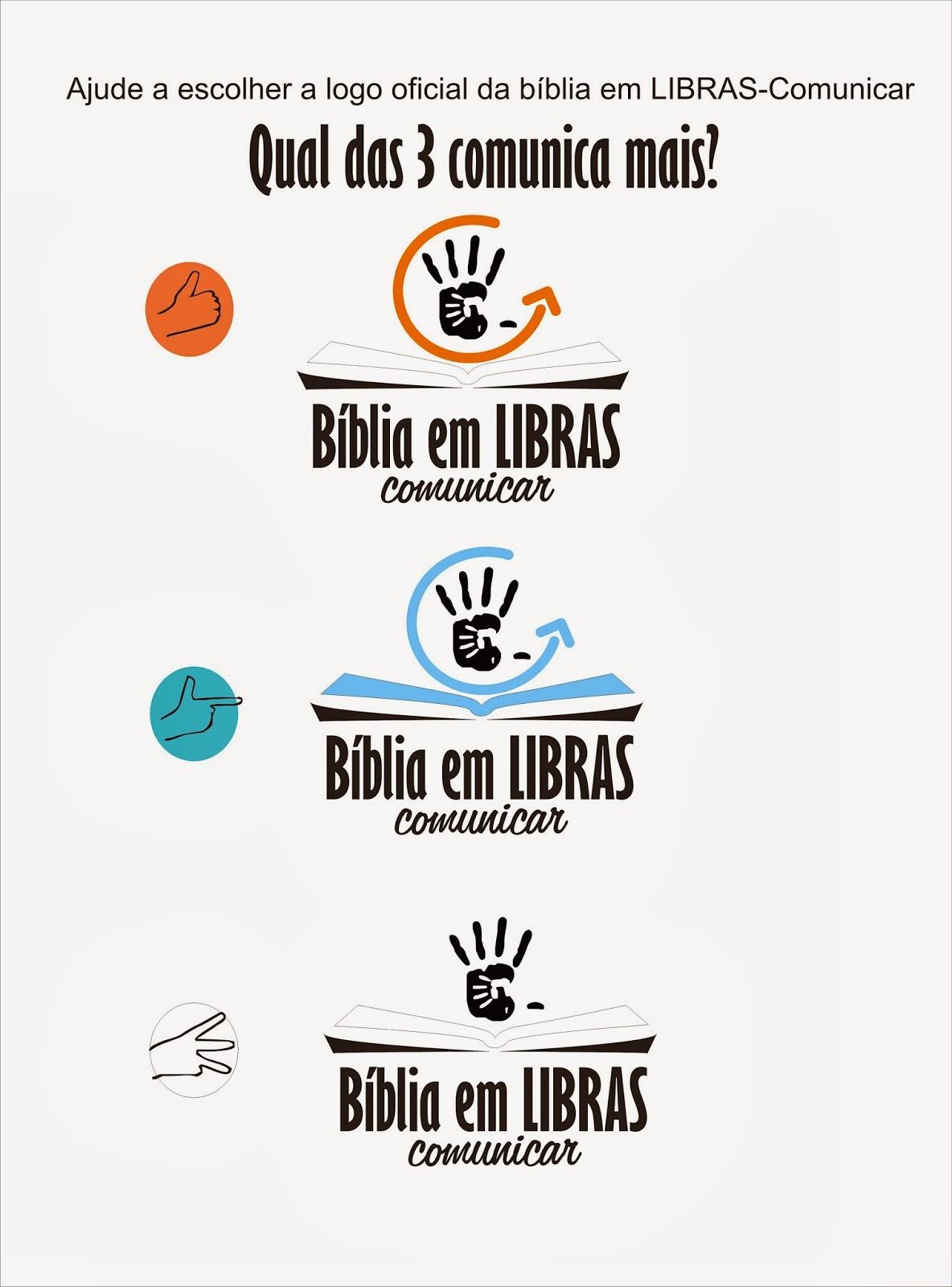 Comunicar ministério com / de surdos: bíblia em LIBRAS Comunicar #B64D15 1184 1600