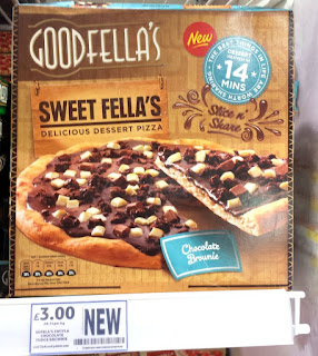 Grocery Gems: New Instore: Goodfella's Chocolate Brownie Pizza & More!