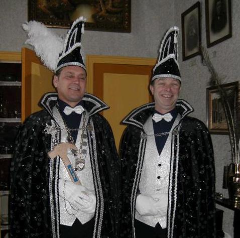 Prins Wilfred 1e en Adjudant Joost 2010 / 2011: