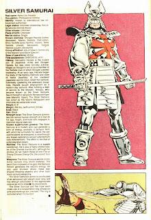 Samurai de Plata (ficha marvel comics)
