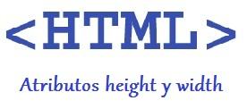 atributos width y height