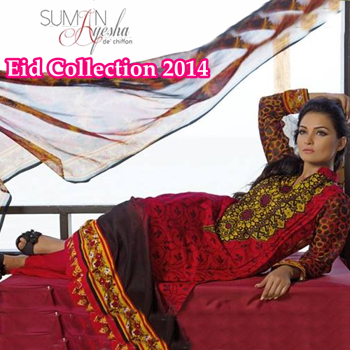 Suman Ayesha Eid Collection 2014
