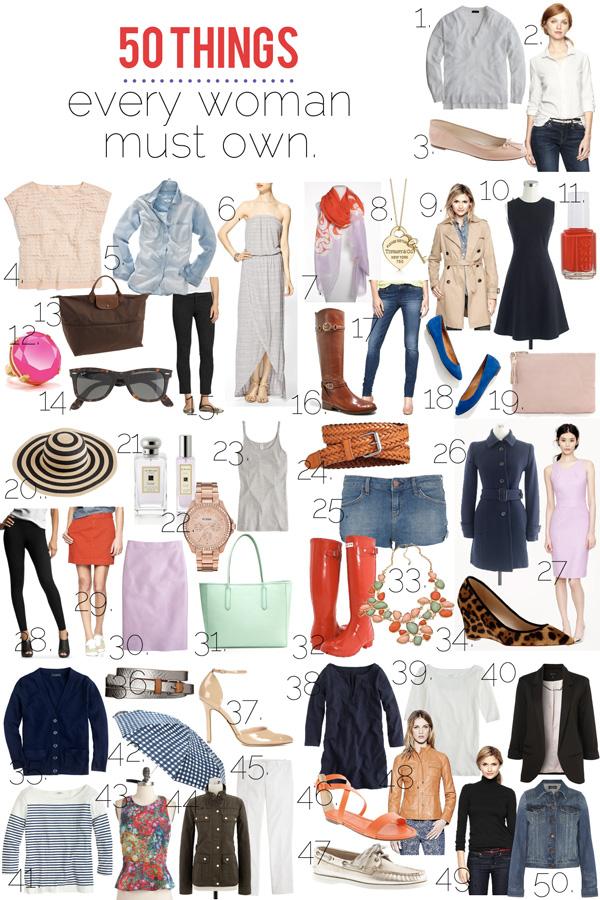 Basic Wardrobe Women Over 50