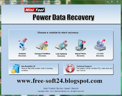 recovery software free download with key
