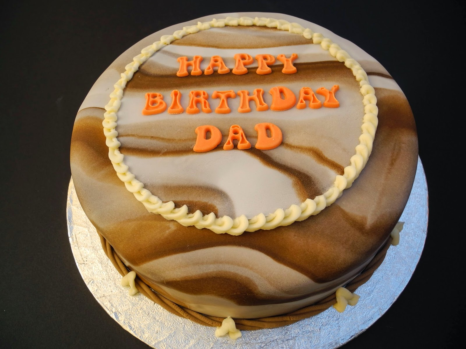 Simple Wallpaper Birthday Father - Dad-Marbled-Chocolate-Birthday-Cake  Best Photo Reference_466188.jpg
