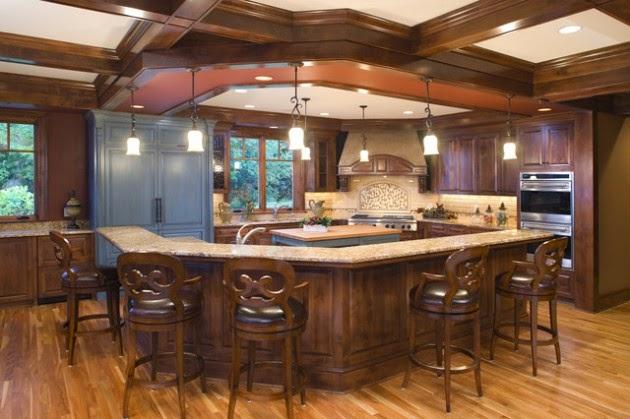 Hogares Frescos: 19 Elegantes Ideas de Diseño para Cocinas Abiertas