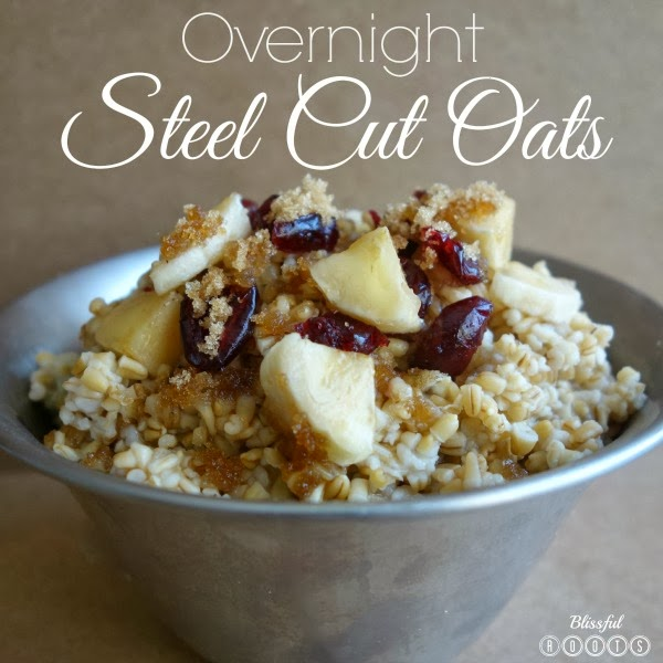 Overnight Steel Cut Oats @ Blissful Roots