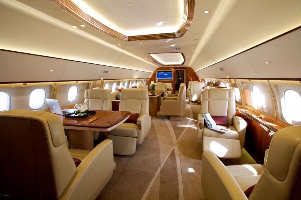 Passion For Luxury : 87$ Million Luxurious Airbus ACJ319 ...