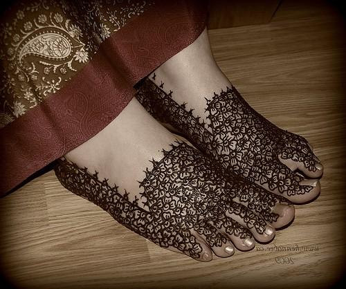 henna tattoo designs for feet. Henna Designs on Feet Light
